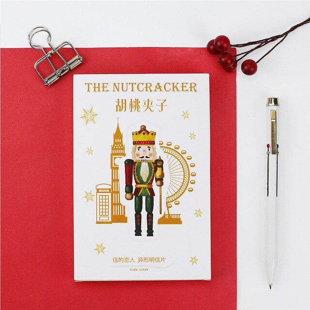 30pcslot cute nutcracker postcards british soldiers diy cartoon 30pcslot cute nutcracker postcards british soldiers diy cartoon character greeting card shaped cards bookmark m4hsunfo