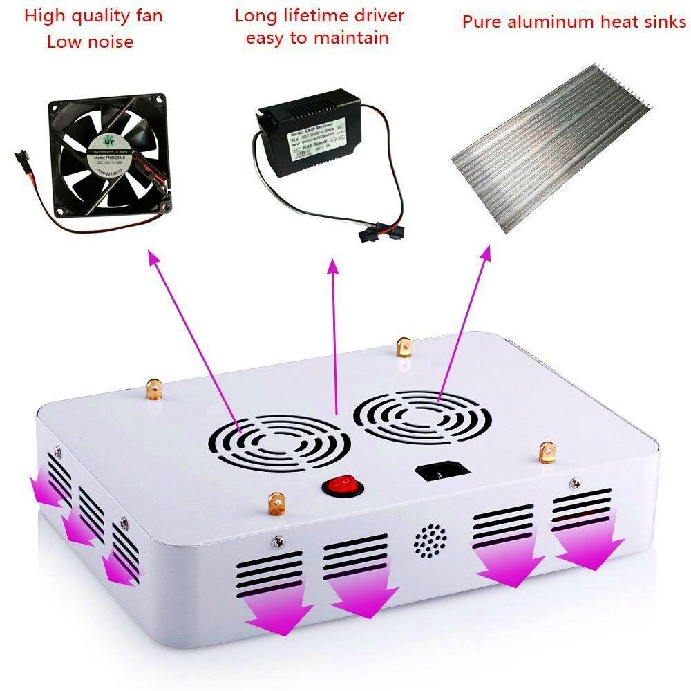 Laitepake ii 1000ワットダブルチップled成長ライトキットフルスペクトル410 730nm用屋内植物や花フレーズ非常に高収量  グループ上の ライト & 照明 からの LED グローライト の中 3