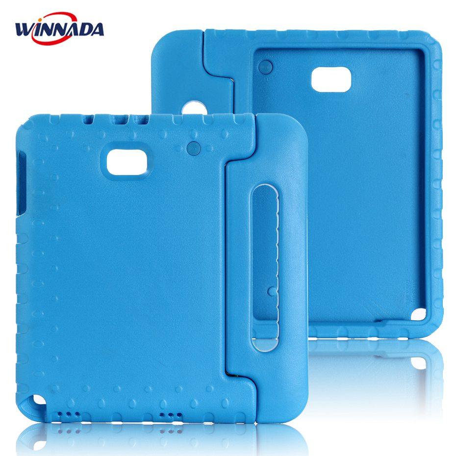 все цены на Case for Samsung Galaxy Tab A 6 A6 10.1 P580 P585 S-Pen version hand-held full body Kids Children Safe EVA SM-P580 tablet cover онлайн