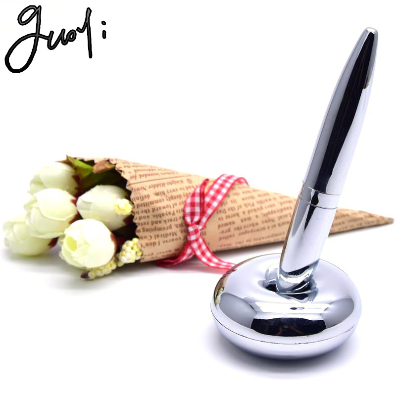 Sweet-Tempered Guoyi A18 Magnetic Suspension Desk Pen Learn Office School Creative Stationery Gift Luxury Pen & Hotel Business Writing Pen Pens, Pencils & Writing Supplies Ballpoint Pens