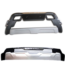 High quality ABS chrome front fender front bezel Front + rear bumper Protection board for 2013 – 2014 Reynolds KOLEOS