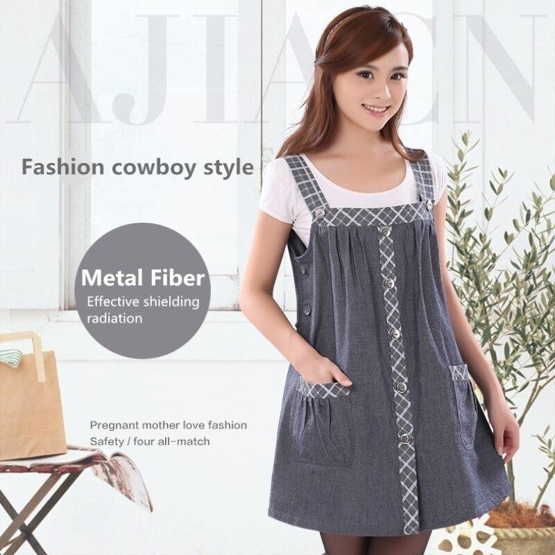 20bac15fd1fe6 Recommend electromagnetic radiation protective pregnant women fashion dress  EMF shielding metal fiber anti-raidation clothing