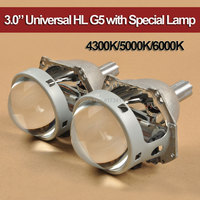 3.0 Inches Universal Use HL G5 with Special Xenon Bulb 35W 4300K 5000K 6000K High Bright Fast Install for Auto Headlamp