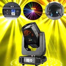 Сценический светильник ing Rainbow effect 80 Вт/150 Вт Светодиодный светильник с движущейся головкой для мытья гобо призмы Спорт для dj вечерние дискотеки