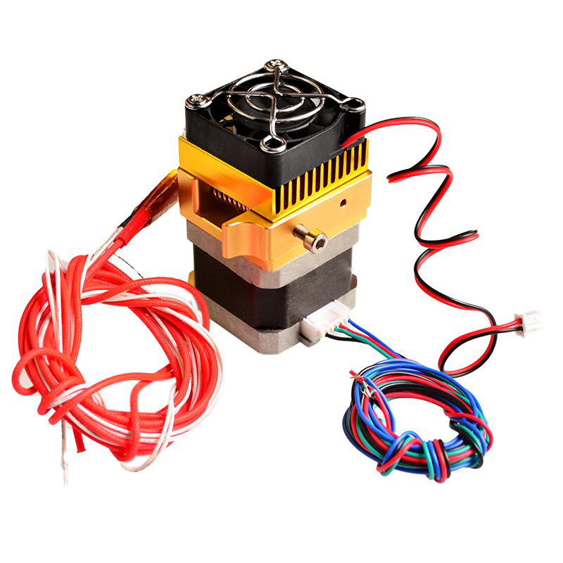 3D Printer Accessories MK8 Metal Kit Extruder Head 0.4mm Nozzle Print Head 1.75mm Filament LCC77