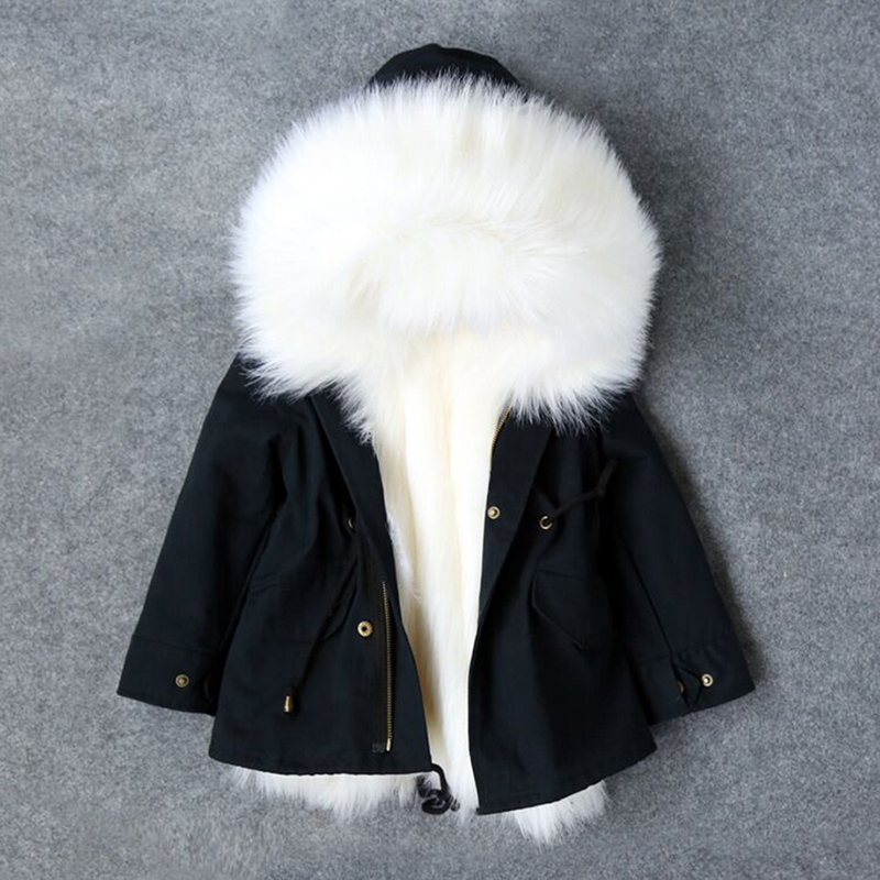 Morningwell Down Winter jacket For Girls Faux Fox Fur Liner Jackets Children's Outerwear Thicken Warm Coat Parkas For Boys Coats 2015 new hot winter thicken warm woman down jacket coat parkas outerwear hooded splice mid long plus size 3xxxl luxury cold