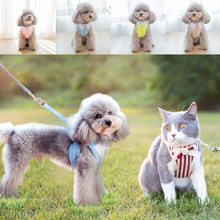 Button Vest Pull Rope Large, Medium and Small Let for Dogs Tag Leash Collar Harness Muzzle Supplies Cloth Indoor and Outdoor