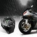 Steelmate TP-90 Wireless DIY TPMS for Motorcycle Tire Pressure Monitor Waterproof External Sensor LCD Display for Motorcycle