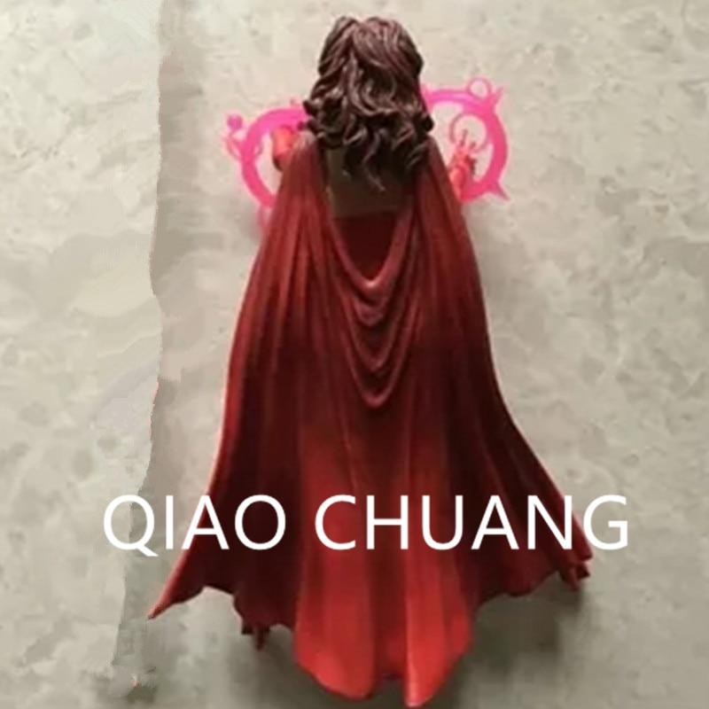 The Avengers Wanda Django Maximoff Scarlet Witch PVC Action Figure Da Odin Tutti Padre BAF Onda Da Bambola G1133