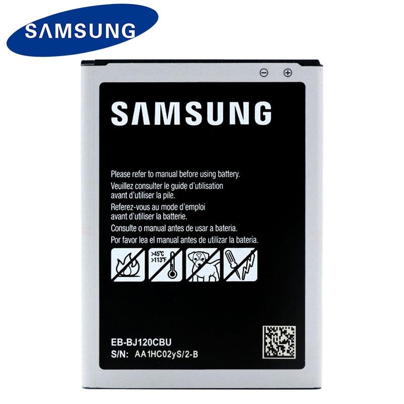 Samsung Оригинальный Новый Замена Батарея BJ120CBE 2050 мАч для Galaxy J1 (2016) J120 J120F J120A J120H J120T