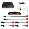 10-Color Car LED Display 6 Parking Sensor Reverse Aid Backup Radar System #FD-889