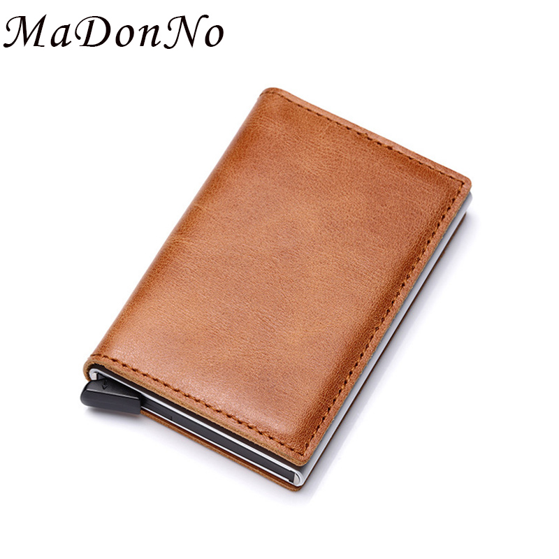 Dedicated Dienqi Metal Slim Wallet Men Women Money Bag Mini Purse Male Vintage Aluminium Rfid Card Holder Wallet Cheap Small Thin Wallet Wallets