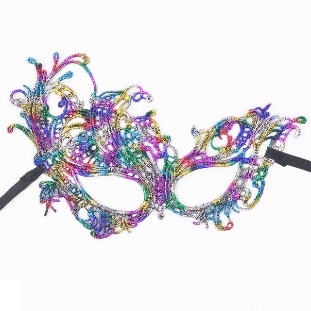 5 designs fashion sexy lace eye mask masquerade ball halloween dress costume masque