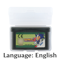 32 Bit Video Game Cartridge Sonic Advance 2 Console Card EU Version English Language Support Drop Shipping32 Bit Video Game Cartridge Sonic Advance 2 Console Card EU Version English Language Support Drop Shipping