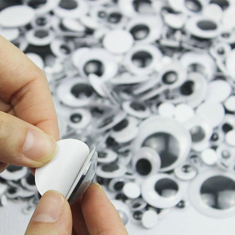 20 pair of 35mm Wiggle Googly eyes for crafts decorations cards