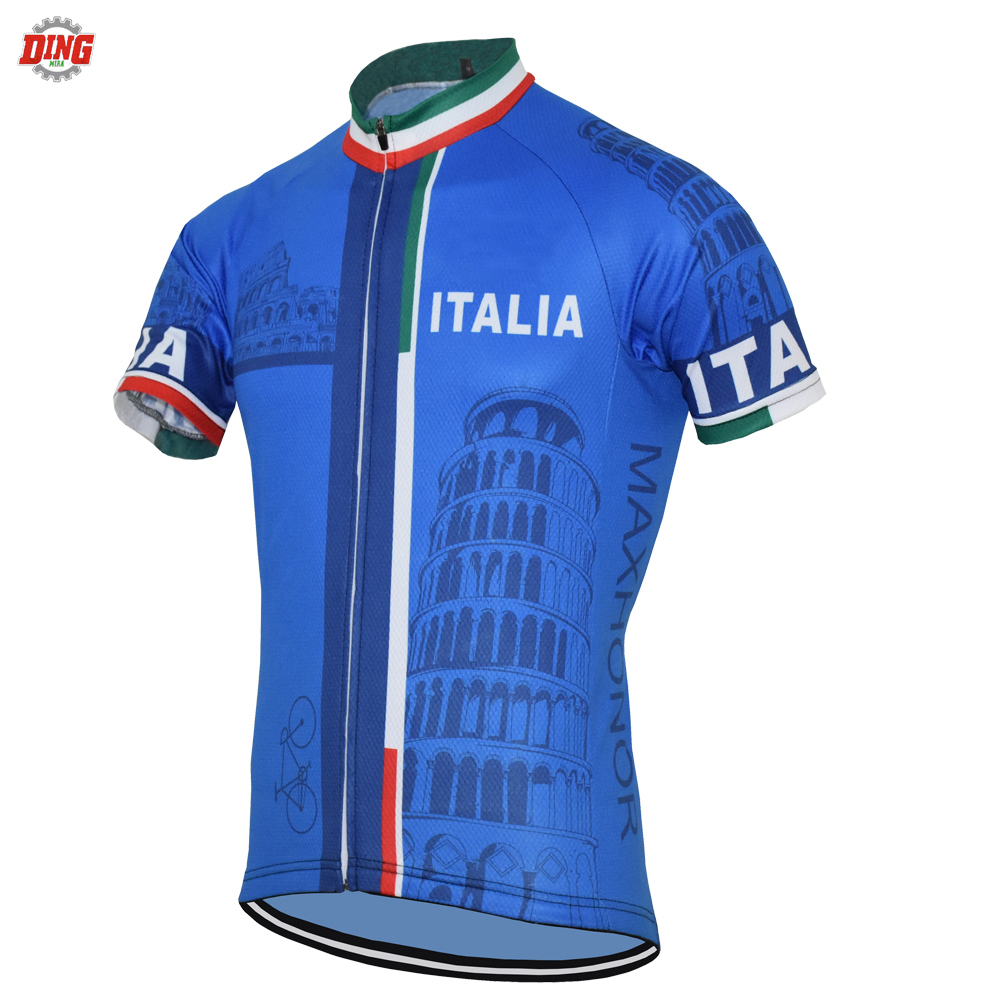 NEW blue cycling jersey Italy TEAM ITALIA ropa Ciclismo men Short sleeve cycling clothing MTB Outdoor sports Mountain bike wear NEW blue cycling jersey Italy TEAM ITALIA ropa Ciclismo men Short sleeve cycling clothing MTB Outdoor sports Mountain bike wear