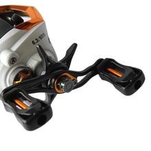 Lixada 12+1 Ball Bearings Fishing Reels Baitcasting Reel Fishing Fly High Speed Fishing Wheel with Magnetic Brake System