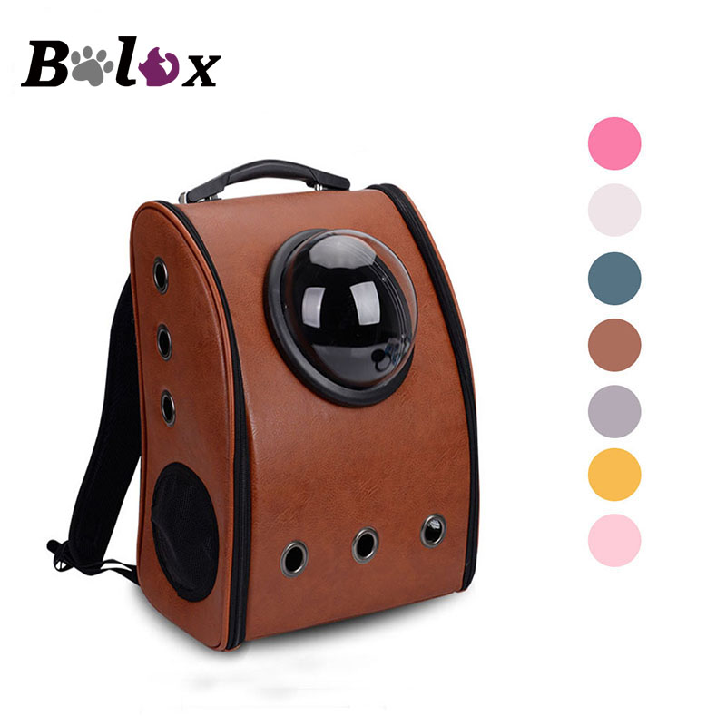 Pet Backpack Carrier Dog Shoulder Reflexivo Space Capsule Shaped Pet Travel Carrying Outside Travel Portable Bag