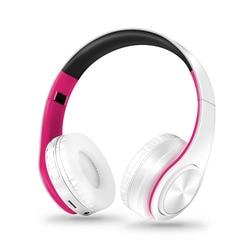 Fones de ouvido bluetooth fone de ouvido sem fio fones estéreo dobrável esporte fone de ouvido microfone handfree mp3 player