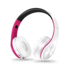 Earphone Wireless Mp3-Player Bluetooth-Headset Handfree Foldable Sport