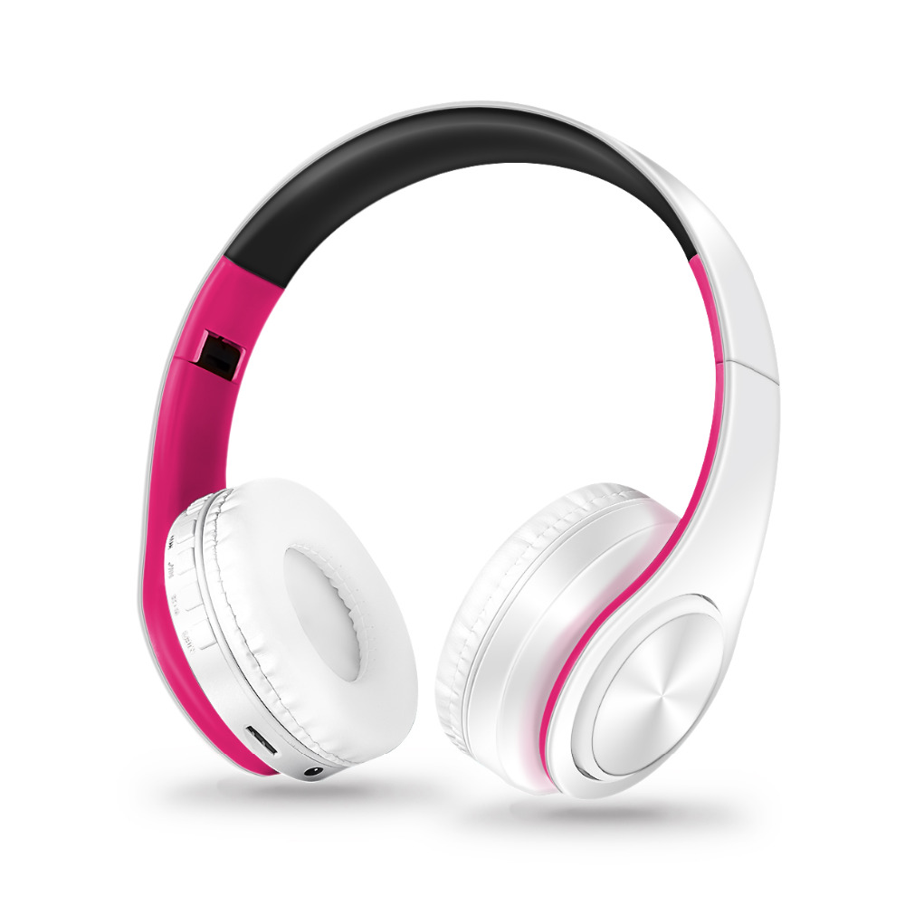 Hoofdtelefoon Bluetooth Headset oortelefoon Draadloze Hoofdtelefoon Stereo Opvouwbare Sport Oortelefoon Microfoon headset Handenvrij MP3 speler