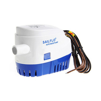 DC12V 24V Automatic Bilge Pump 750GPH Auto Submersible Boat Water Pump Electric Pump For Boats Accessories