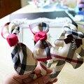 Dulce de los Bebés Hairbands Classic Plaid Niños Venda de La Manera Headwear Accesorios