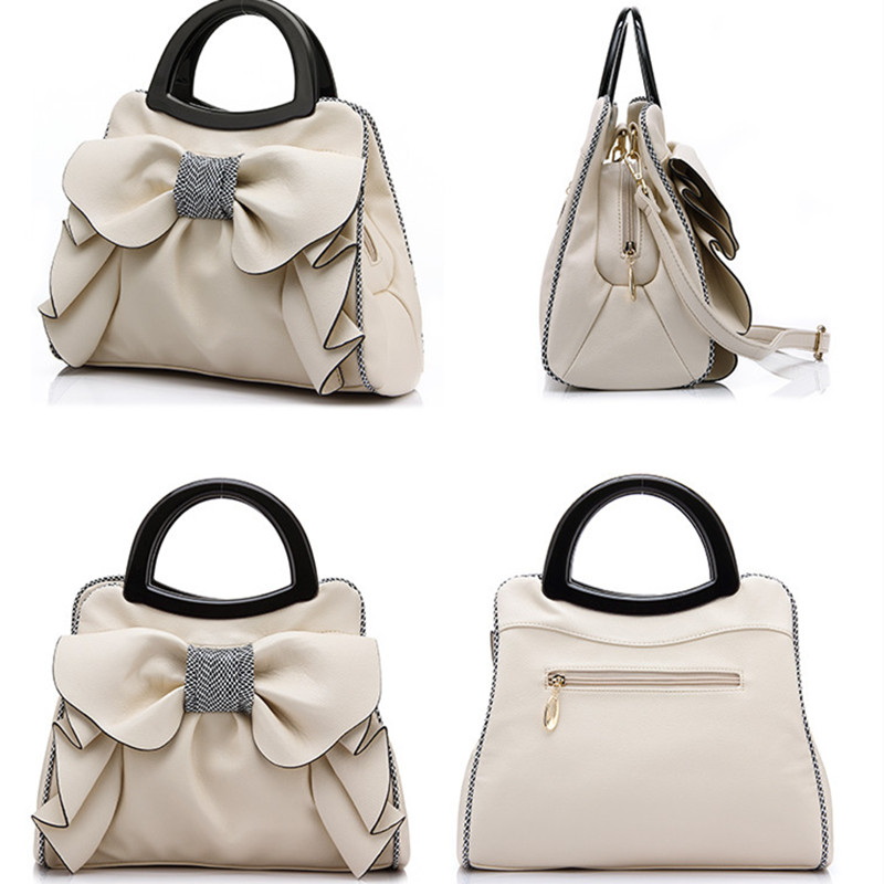 Flyone New Bow Fashion Handbags Sweet Lady Bag Ladies bag Woman Bag Lady's Best Gift Beautiful Bow For Beautiful Her FY0146