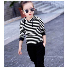 Childrens clothing 2016 spring and autumn childrens suit clothes 2-7 year old boy girl fashion trendy