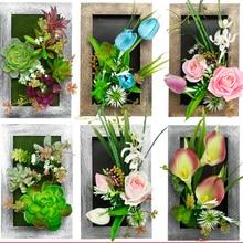 Compra Mural Wall Artificial Flower Y Disfruta Del Envio Gratuito En