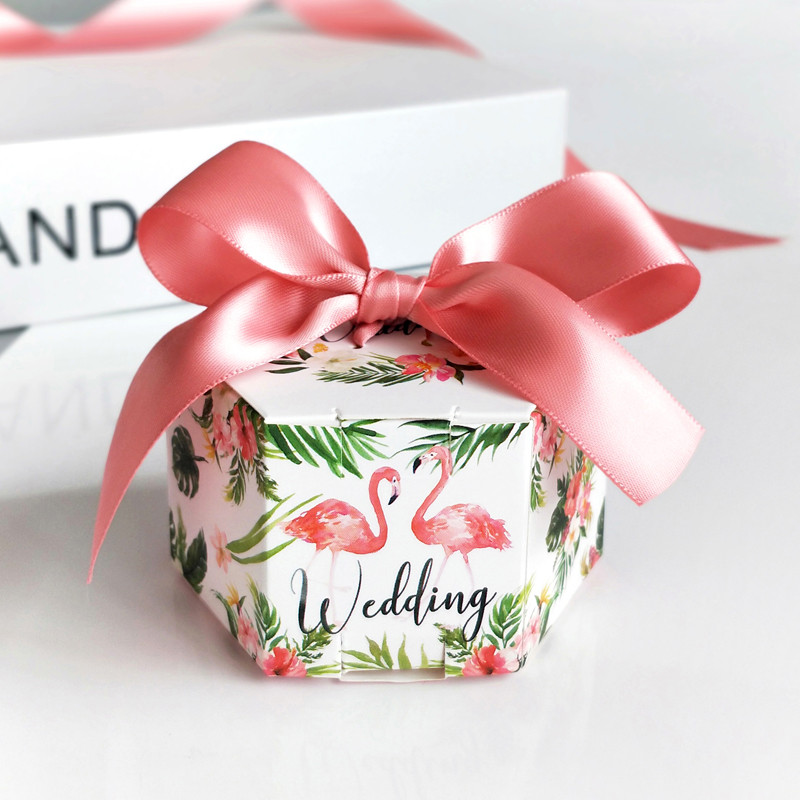 50pcs/set Christmas Gift Box .The Gift Case Or Boxes For Wedding Candy Or Party .Variety of Colorful Ribbon Gift Boxes