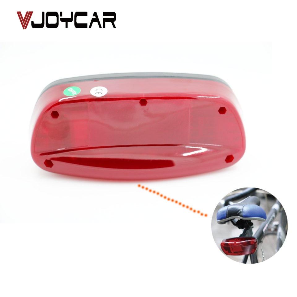 VJOYCAR GPS Tracker Bike Hidden Inside Bicycle Brake Lamp Motion Sensor Long Battery Life 120 Days FREE GPS Tracking System APP vjoycar tk10sse 10000mah rechargeable removable battery
