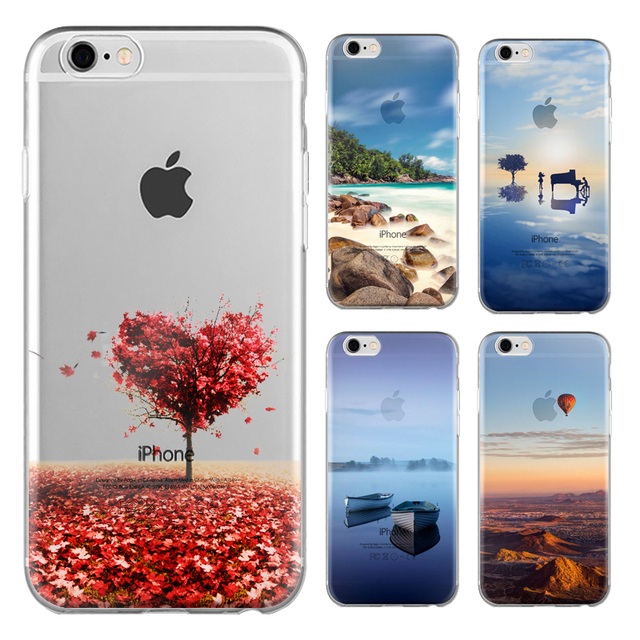 new styles 292df e0cad US $135.0  100pcs Scenery Series Phone Case For Tecno Camon C9 5.5 inch  High Quality Painted TPU Soft Silicone Skin Back Cover Shell-in Fitted  Cases ...