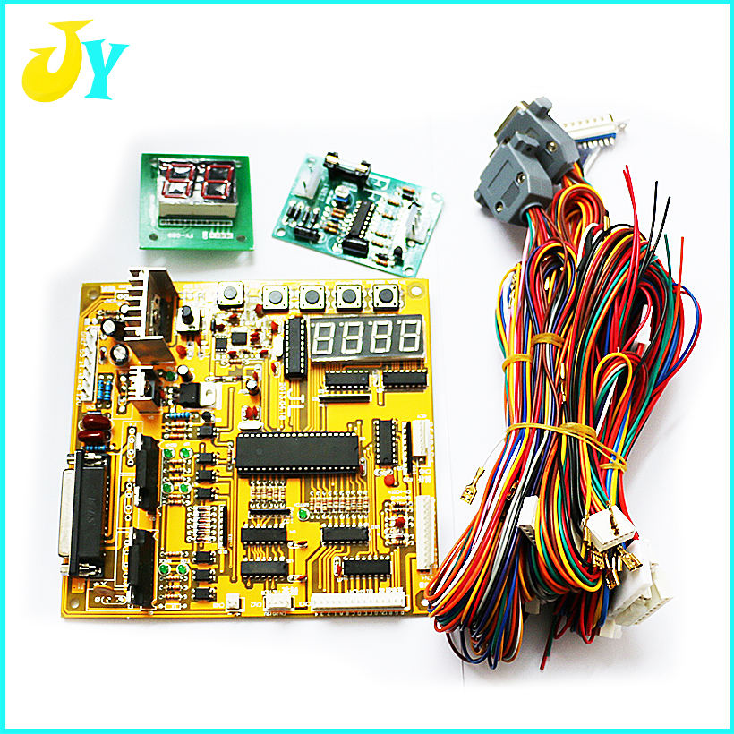 Toy crane machine main board arcade motherboard Game PCB with wire harness Free shipping