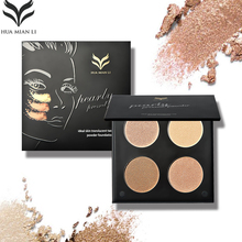 HUAMIANLI Highlighter Palette Powder Concealer Primer GLOW KIT Medium Bronzer Highlighter Makeup illuminador matte Contouring