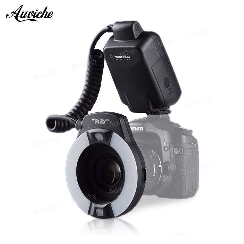 Yongnuo YN-14EX YN14ex TTL Macro Ring Lite Flash Speedlite Light for Canon 5Ds 5Dsr 760D 5D Mark III 7D 60D 70D 700D 650D 600D зонты