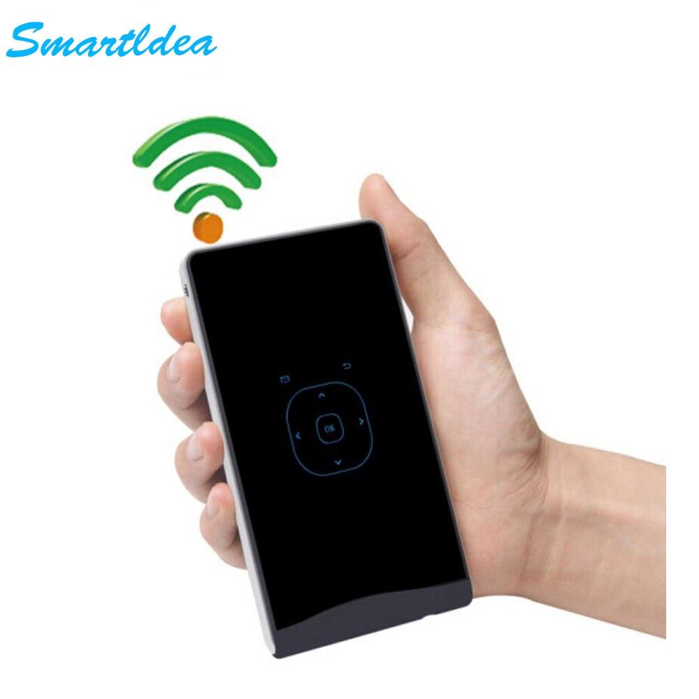 Smartidea dlp handheld mini led projector portable pocket for Portable handheld projector