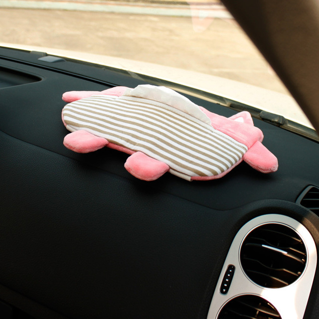 Car Tissue Holder Cartoon style