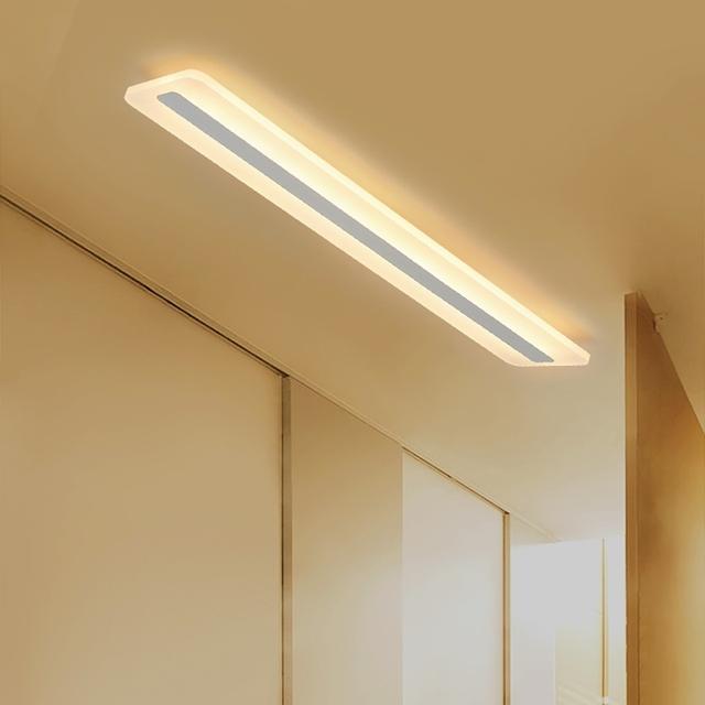 A1 simple long strip led ceiling lamps creative office living room a1 simple long strip led ceiling lamps creative office living room bedroom corridor rectangular light ceiling aloadofball Images