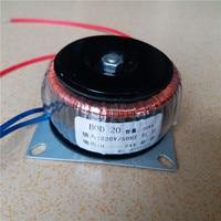 24V 0.83A Ring transformer 20VA 220V input copper custom toroidal transformer for power supply amplifier