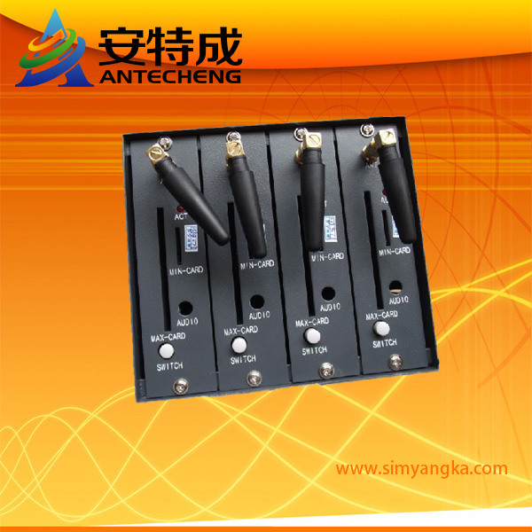USB interface gsm wavecom Q2403a 4 sim cards gprs modem 4 ports gsm modem usb interface wavecom module q2303