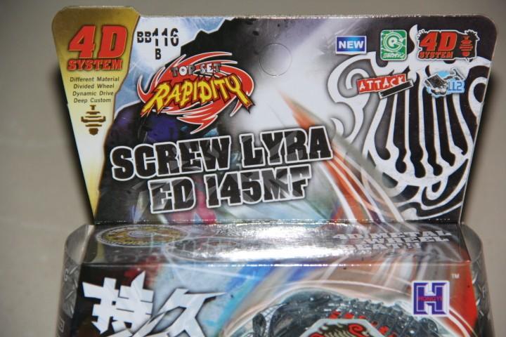 1pcs-BEYBLADE-Metal-Fusion-BB-116-Screw-Lyra-ED145MF-Booster-Pack-NEW-M088 (2)