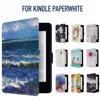 For Amazon Kindle Paperwhite1 2 3 Case Shell PU Leather Smart Cover Fit For Kindle Paperwhite