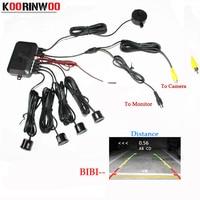 Dual Core CPU Car Video Parking Sensor Reverse Backup Radar Alarm System Show Distance On Display