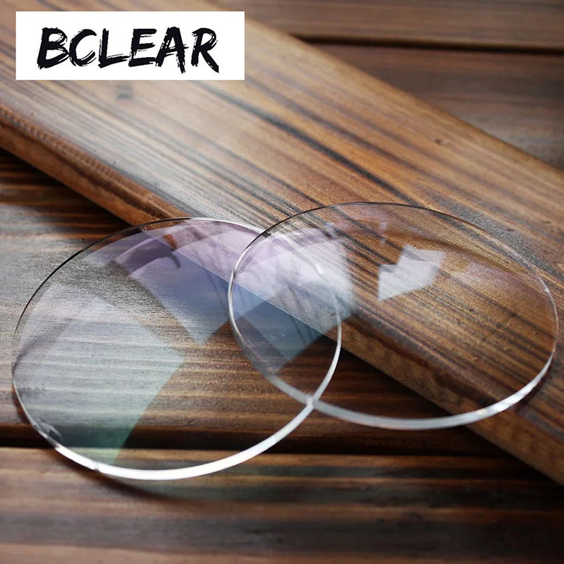 Image 3 - BCLEAR 1.74 Ultra High Index Super Thin Aspheric Optical Prescription Lenses For Myopia Glasses Diopter Nearsighted Shortsighted-in Eyewear Accessories from Apparel Accessories