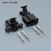 Shhworld Sea 2 шпильки громкие колонки сенсор разъем 1J0 971 972 3B0 972 712 водонепроницаемый Женский Мужской разъемы для Audi Skoda