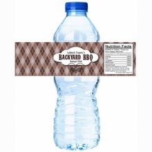 48x Personalized Water Bottle Labels Wedding Decorations Favors Gifts Tags Personalised Candy Stickers Customized Family Name