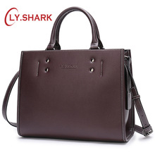 LY.SHARK Women Messenger Bag Ladies' Genuine Leather Handbag Crossbody Bags For Women Green Shoulder Bag Female Fashion Tote Bag nmd original women shoulder messenger bag genuine leather handbag female fashion crossbody bag ladies solid small tote bag purse