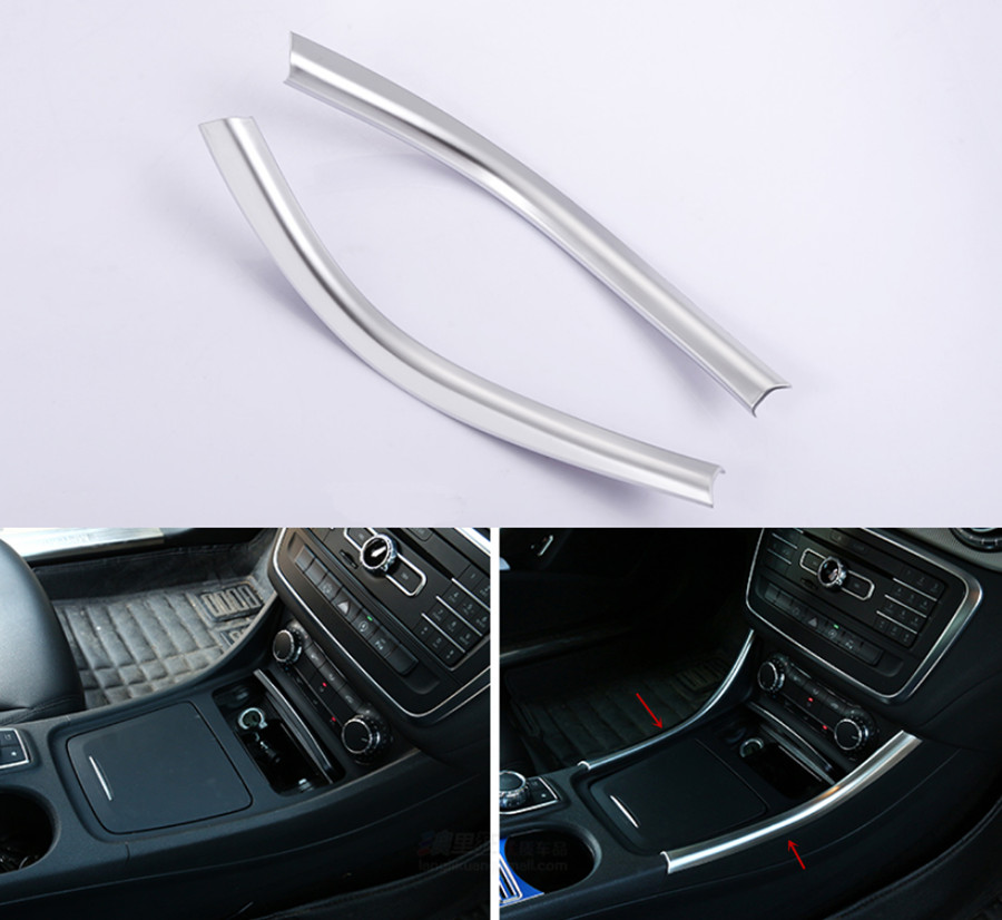 2pcs center console storage box ashtray cigarette air for Mercedes benz center console lid