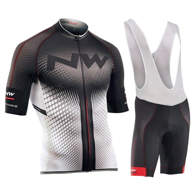 NW 2018 D'été Respirant Hommes Cyclisme Jersey Vtt Vêtements de Cyclisme Vélo En Plein Air à séchage rapide équipement de vélo